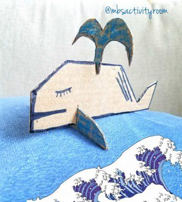 Cardboard Whale