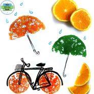 Orange Prints