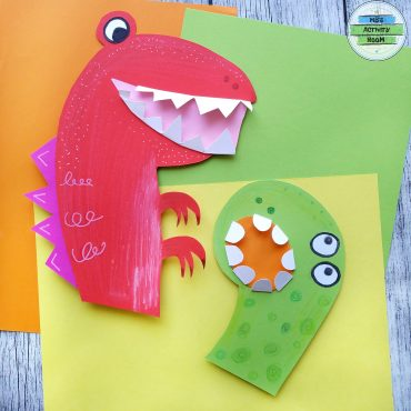 Dino Hand Puppets