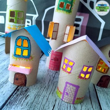 Paper Roll Houses