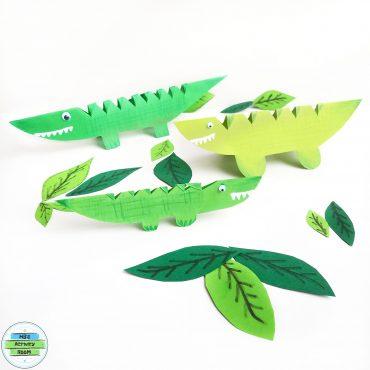 Paper Crocodiles