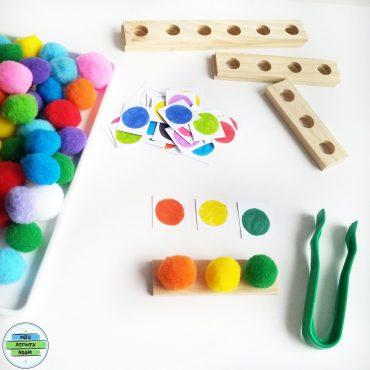 Pompom Color Match