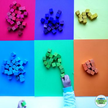 Color Sorting With Wooden Blocks