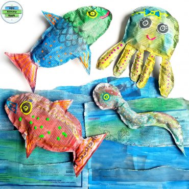 Newspaper Sea Animals