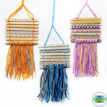 Popsicle Stick Wall Hangings