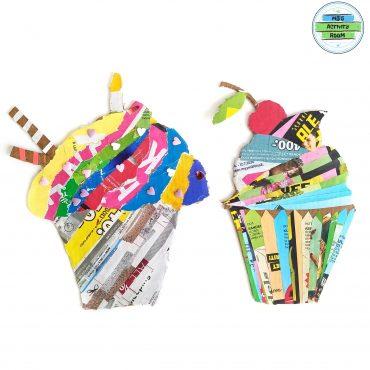 Magazine Stripe Muffins