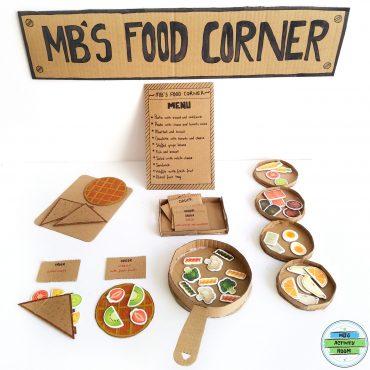 Cardboard Food Corner