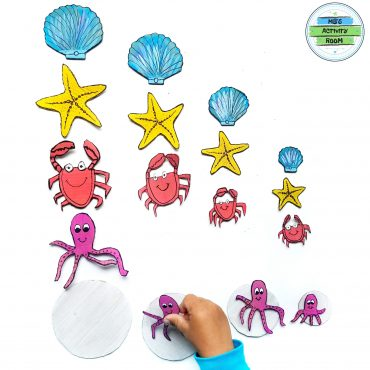 Sea Animals Size Sorting