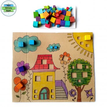 Complete The Missing Parts With Blocks