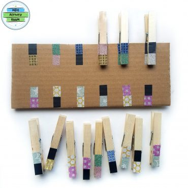 Clothespin Pattern Matching