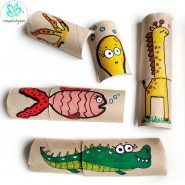 Paper Roll Puzzles